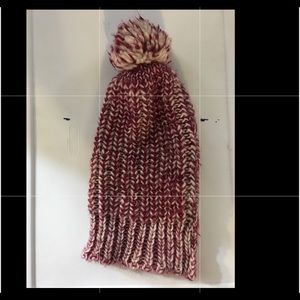 Target Accessories - RED AND WHITE KNIT HAT 61e1f0847dc
